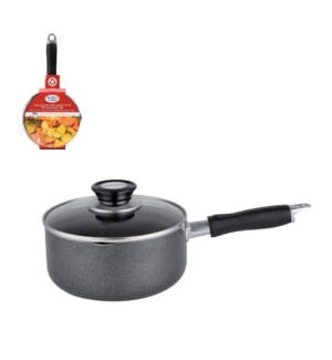 Sauce pan1.5Qt Aluminum, Nonstick Coating, Bakelite Handle,  643700269751