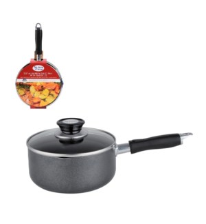 Sauce pan 2Qt Aluminum, Nonstick coating, Bakelite Handle, G 643700200297