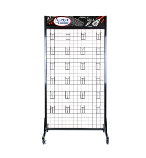 BBQ Rack with 24 Hooks 32x20x65in                            643700203793