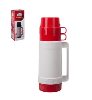 Thermo PP 1Liter. Red and white                              643700207470