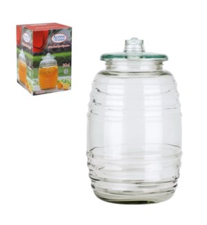 Water Jar Glass Vitrolero 3 gal                              643700209245