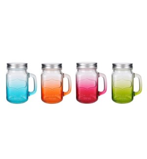 Glass Mason Jar 15.5Oz                                       643700210678