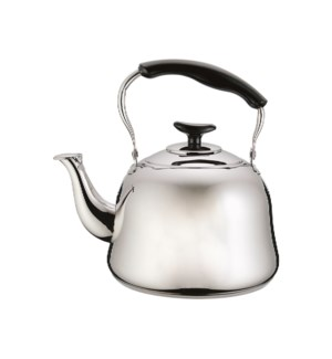 Tea Kettle SS 1Li with Bakelite Handle, Mirror Finished      643700222756
