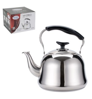 Tea Kettle SS 3.0 Li with Bakelite Handle, Mirror Finished   643700210869