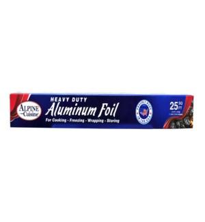 Aluminum Foil 12in x25sq ft. 15microns                       643700217936