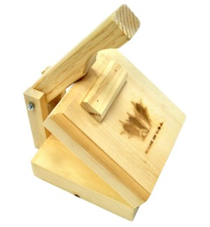 Tortilla Press Wood 8in square                               643700218568