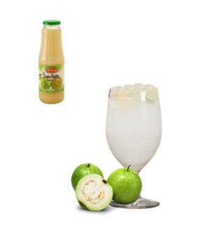 White Guava Drink Glass 1Li (35% with Pulp) Bettino          643700222831