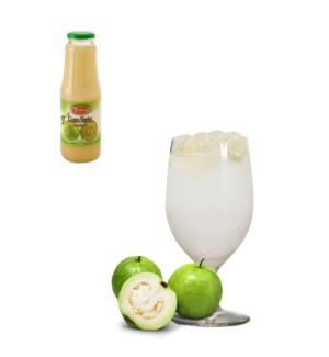 White Guava Drink Glass 1Li (35% with Pulp) Bettino          643700222831