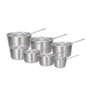 Cooking pot 14pc set Aluminumwith single wire handle         643700223586