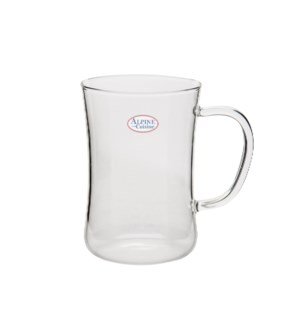 Tea Glass borosilicate, heat resistant 10.5Oz                643700224446