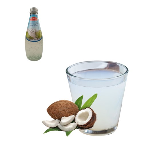 Bettino Coconut Juice 60% with pulp 9.8floz 290ml            643700226785