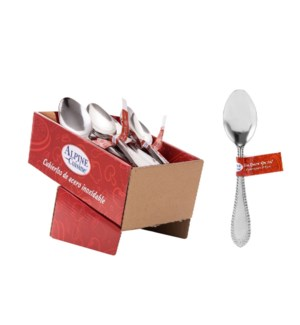 Dinner spoon 4pc set SS, 36bdls                              643700230584