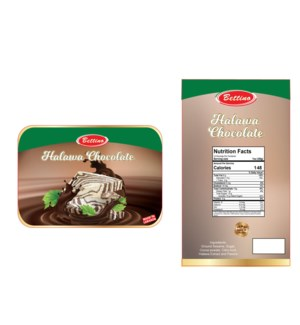 Halawa Chocolate 1 lb Bettino                                643700244642