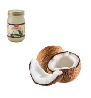Organic Virgin Coconut Oil Glass 400mL Bettino               643700246240
