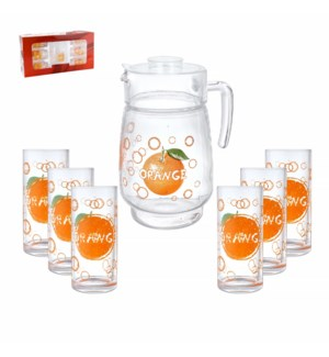 Pitcher Set 7pc w/ Tumbler                                   643700251053