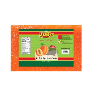 Dried Apricot Paste 400g Al Mashrek                          643700278883