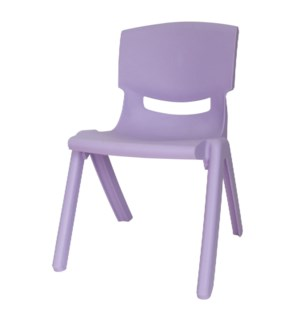 Chair PP For Kids 13x14x19.5in Purple                        643700254108