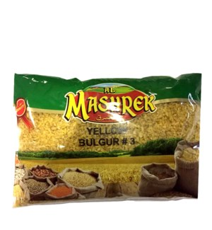 Yellow Bulgur No. 3 Bag 2lb Al Mashrek                       643700278944