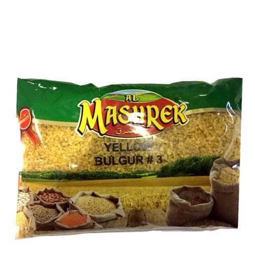Yellow Bulgur No. 3 Bag 2lb Al Mashrek                       643700278944
