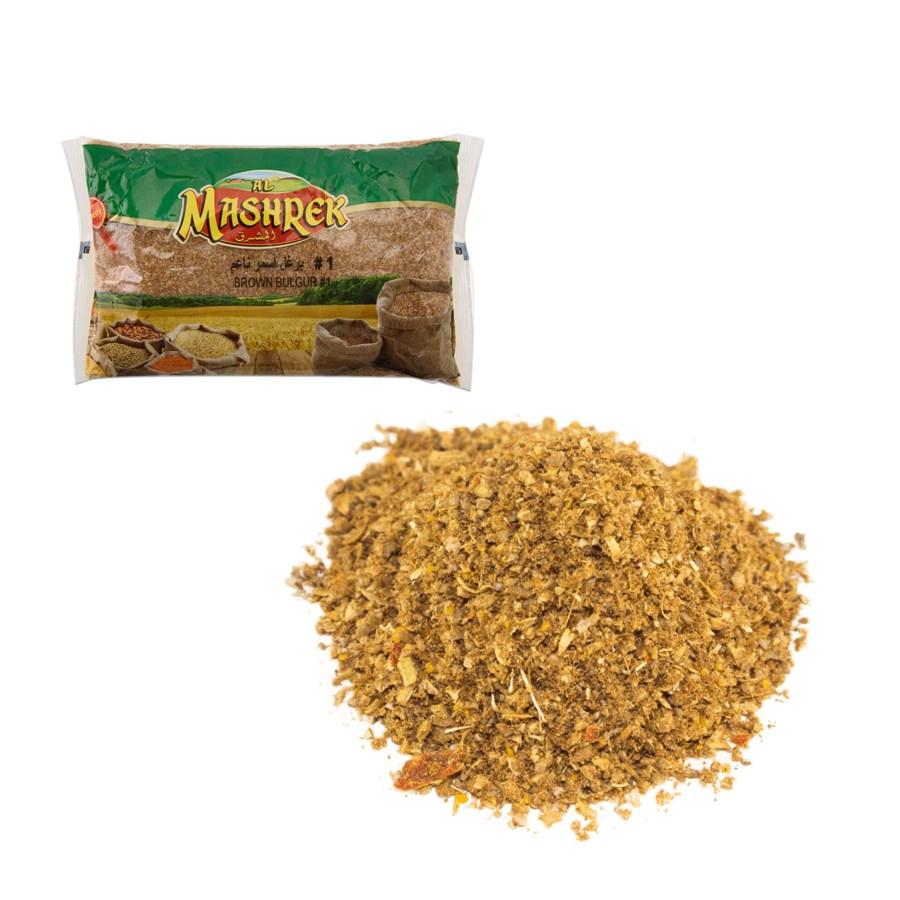 Brown Bulgur No. 1 Bag 2lb Al Mashrek                        869745244704