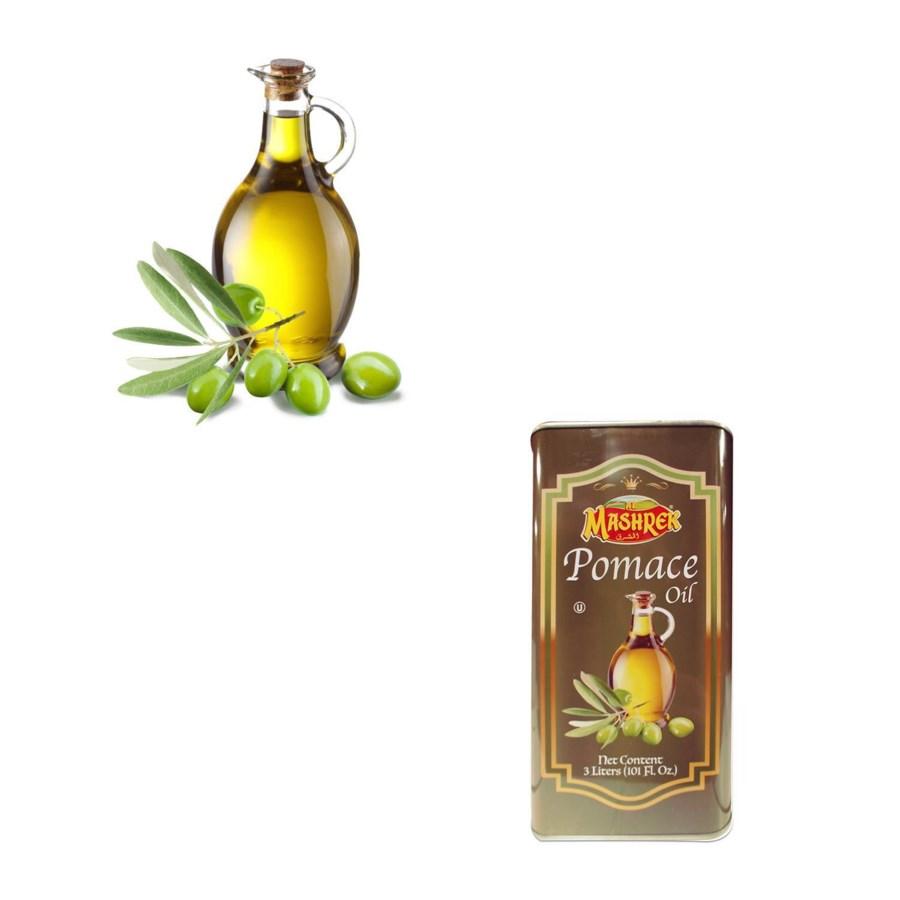 Al Mashrek Pomace Oil Blend 101 fl oz 3L Tin                 643700263131