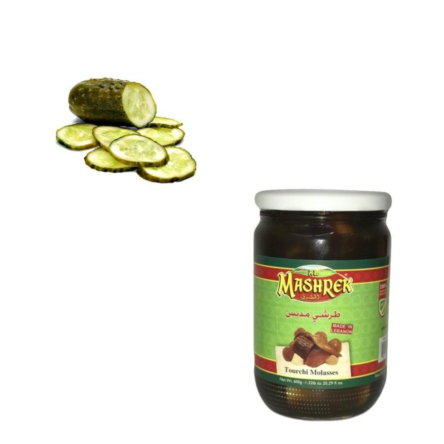 Tourchi Molasses Glass 600g Al Mashrek                       643700263209