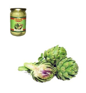 Artichoke Pickles Glass 600g Al Mashrek                      643700263223