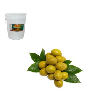 Green Olive with Thyme 10kg Al Mashrek                       643700263254