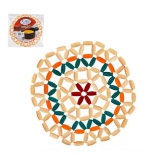 Bamboo Coaster  8in                                          643700267344