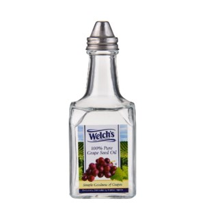 Oil Bottle Glass 5.5oz Welch's                               643700271105