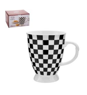 Milk Mug 4pc Set 19Oz Porcelain, Monacco                     643700280145