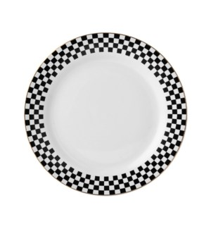 Dinner Plate 10.5in Porcelain, Monacco                       643700280176
