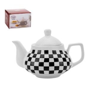 Tea Pot 27.5Oz, 800ml Ceramic, Monacco                       643700280190