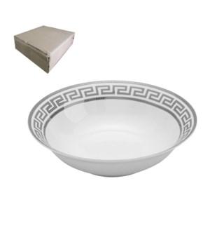 Salad Bowl 9in,Porcelain Super White Round Shape             643700311436