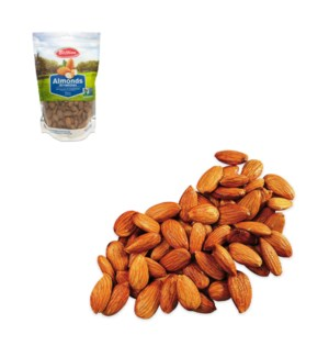 Almonds in Pouch (Non-GMO) 16oz  Bettino                     64370028357