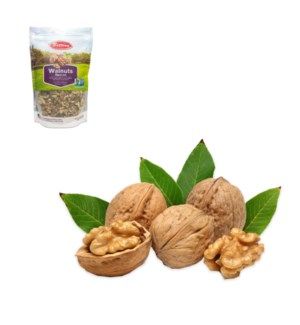 Walnuts in Pouch (Non-GMO) 16oz  Bettino                     64370028359