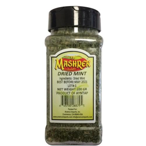 Dried Mint 100g Plastic Jar                                  64370028379