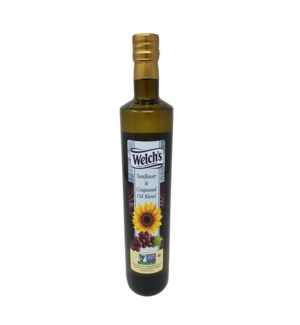 Sunflower and Grapeseed Oil Blend 750mL Glass Welch's        64370028399