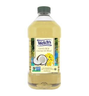 Canola and Coconut Oil Blend 2Li Welch SL:2yrs               643700289117