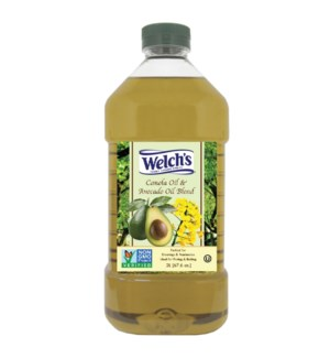 Canola and Avocado Oil Blend 2Li Welch SL:2yrs               643700289124