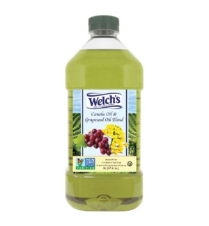 Canola and Grapeseed Oil Blend 2Li Welch SL:2yrs             643700289131