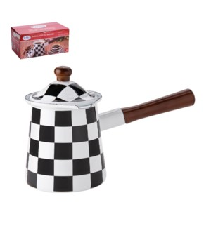 Enamel Coffee Warmer 6pc Set Carbon Steel 11oz, 15oz, 25oz w 643700290656