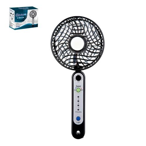 PP Mini Fan 4in with Touch,5V,4.5W,Black                     643700292001