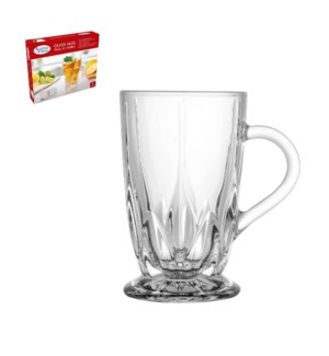 Glass Tea Mug 6pc Set 9.5oz                                  643700292100