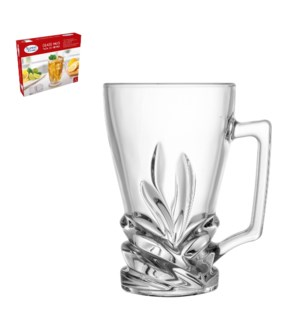 Glass Tea Mug 6pc Set 8.5oz                                  643700292117