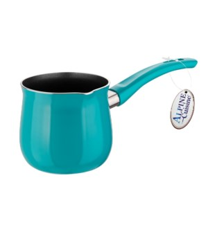 Coffee Warmer 48Oz with Black Nonstick Coating,Teal          643700298799