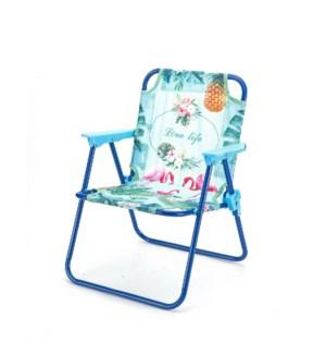 Folding Chair 19x15x10in,5 Color Asstd.                      643700301079