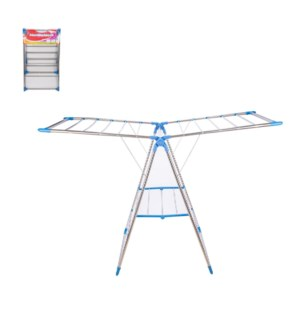 Cloth Drying Rack SS 23.5x41.5in                             643700301086