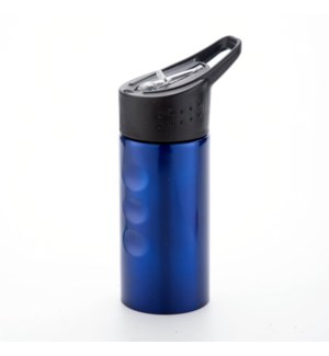 Sport Bottle SS 17oz Silver and Blue                         643700301239