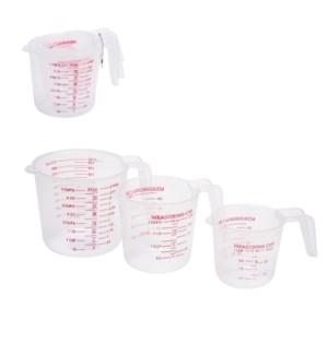Measuring Cup 3pc Set 8.5oz,17oz,34oz                        643700302090
